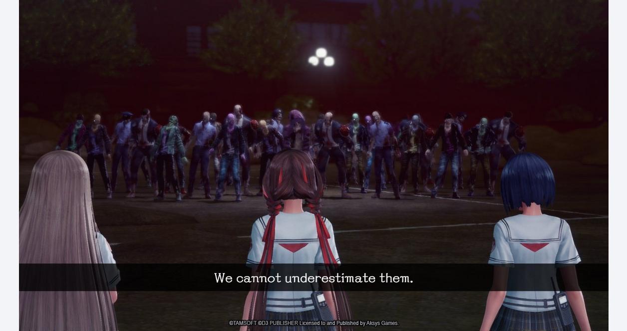 School Girl/Zombie Hunter