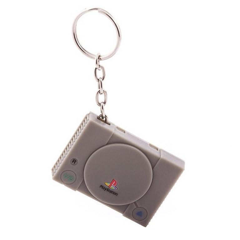 PlayStation 1 Console Keychain