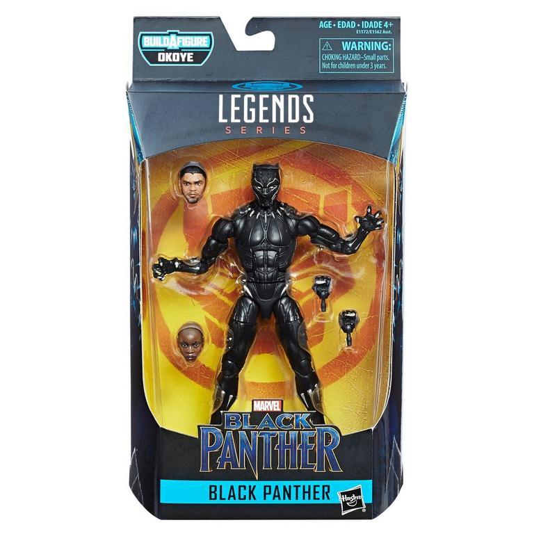 Marvel Black Panther 6-inch Legends Series Black Panther