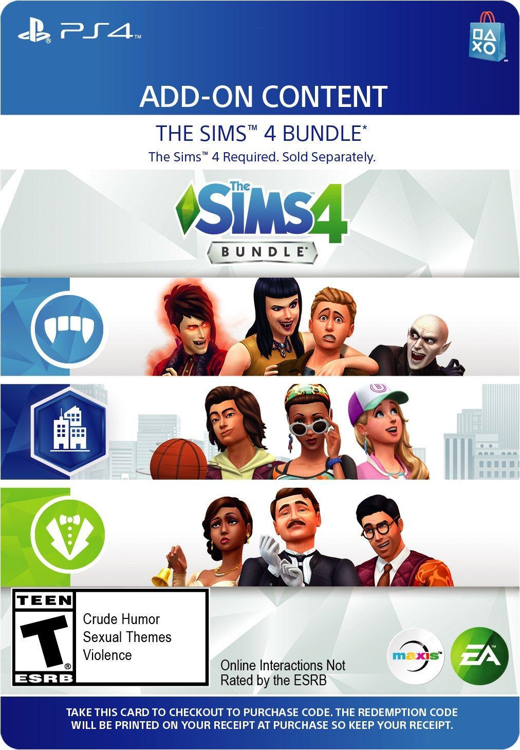 The Sims 4 DLC Bundle | PlayStation 4 | GameStop