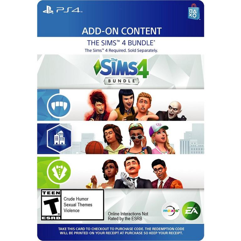 The Sims 4 DLC Bundle | PlayStation 4 | GameStop