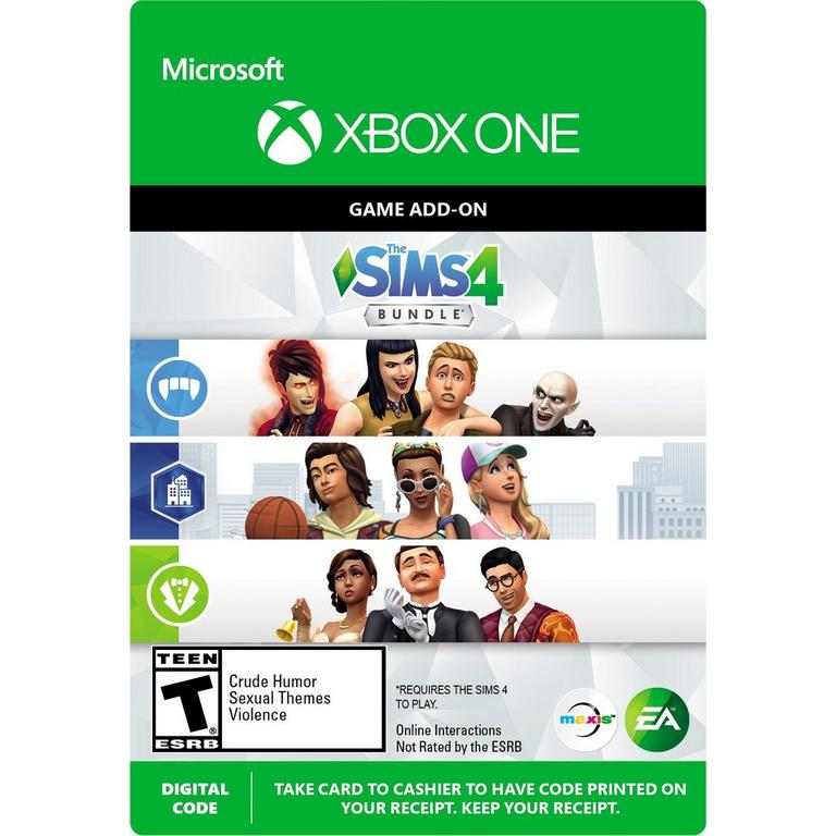 The Sims 4 Dlc Bundle Xbox One Gamestop