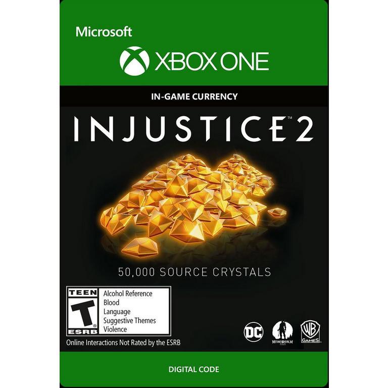 Injustice 2: 50,000 Source Crystals