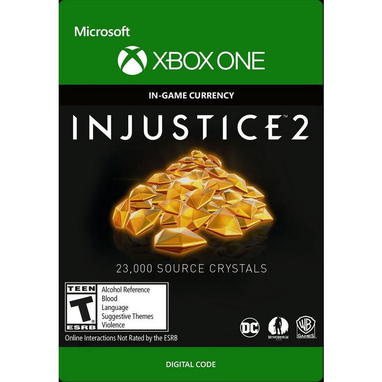 Injustice 2: 23,000 Source Crystals