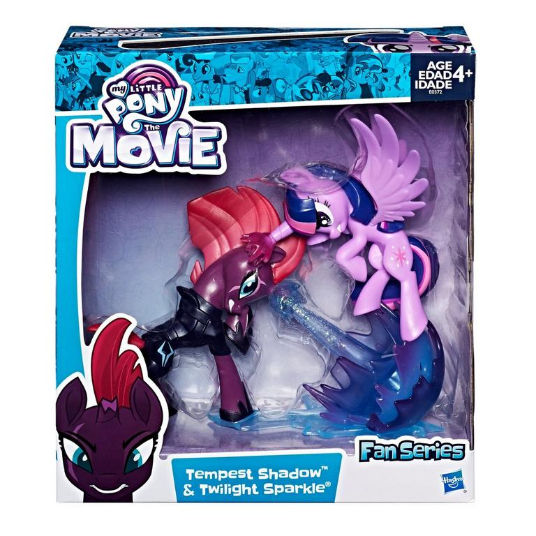 My Little Pony The Movie Fan Series Tempest Shadow and Twilight Sparkle Action Figure 2 Pack