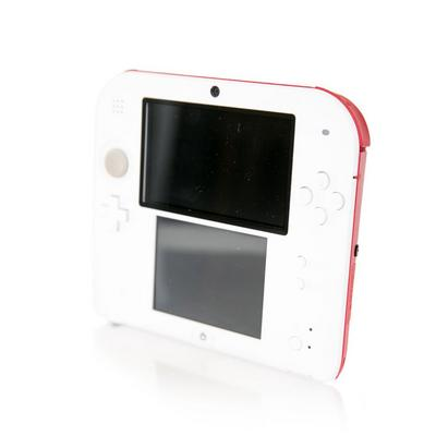 Nintendo 2DS System - White/Red (GameStop Premium Refurbished)
