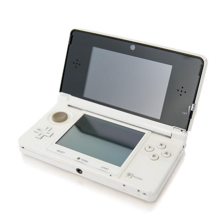 Nintendo 3DS System - White (GameStop Premium Refurbished)