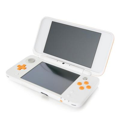 Nintendo New 2DS XL System Orange/White GameStop Premium Refurbished