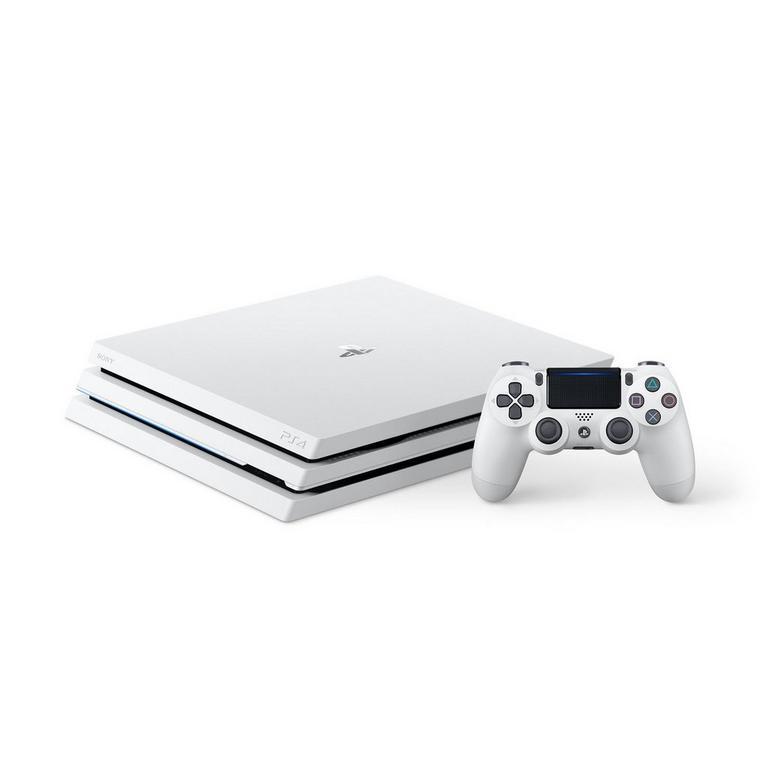 PlayStation 4 Pro 1TB System - White (GameStop Premium Refurbished)