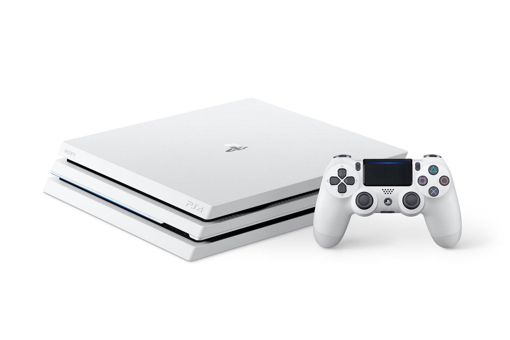 PlayStation 4 Pro Glacier White 1TB | PlayStation 4 | GameStop