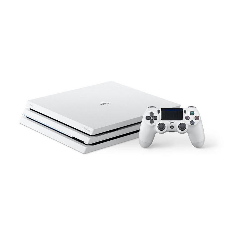 Sony Computer Entertainment America PlayStation 4 Pro Glacier White 1TB PS4 Available At GameStop Now!