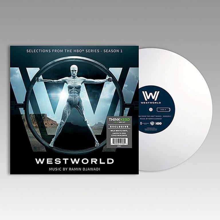 Westworld Season 1 Exclusive Milk White LP