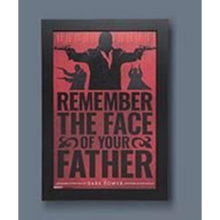 The Dark Tower Framed Wall Art Exclusive Remember