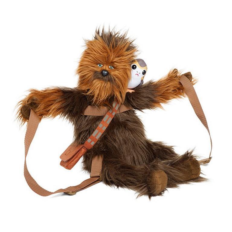 Star Wars Chewbacca with Porg Back Buddy