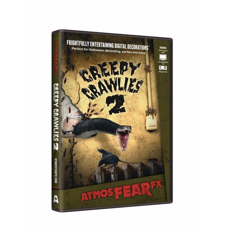 AtmosFX Digital Decorations Creepy Crawlies 2 DVD