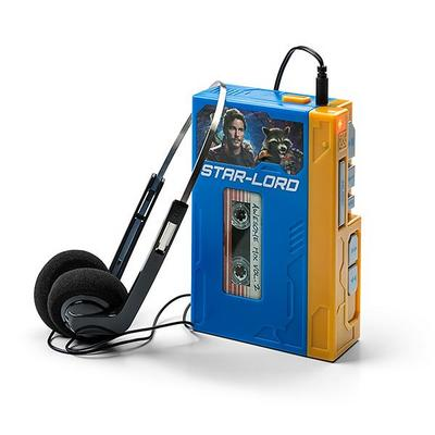 Star Lords Walkman with Headphones Retro Recordable Player