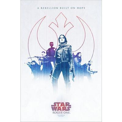 Star Wars Rogue One Art Print Russell Walks