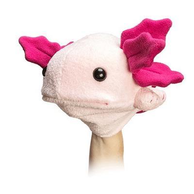 Axolotl Plush Hand Puppet