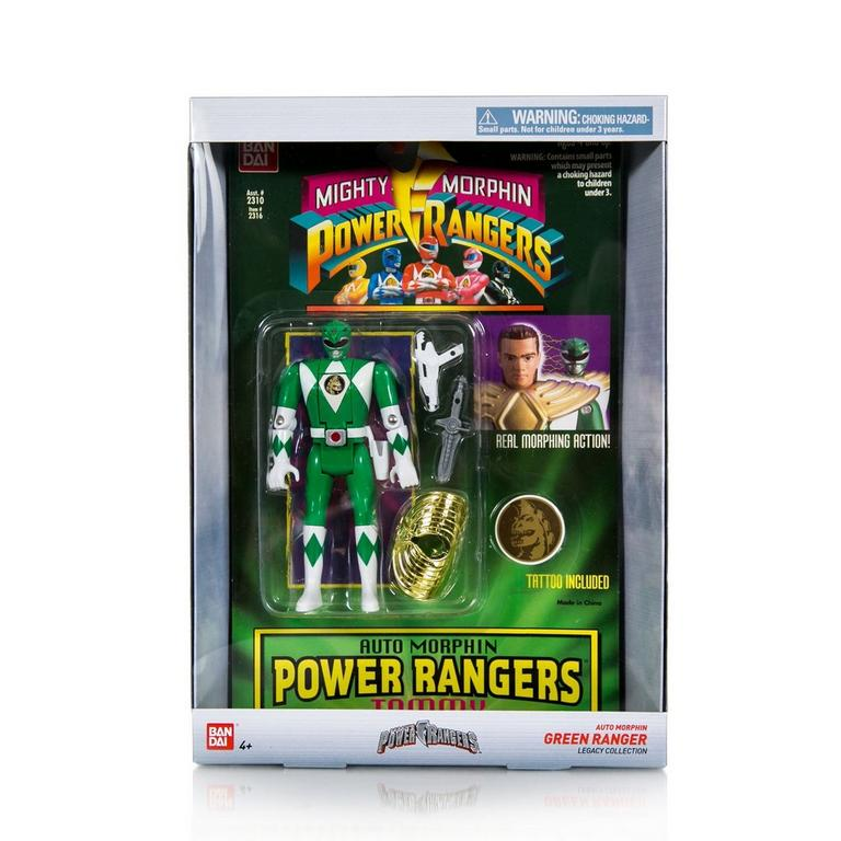 Power Rangers Legacy Collection - Morphin Action Figure