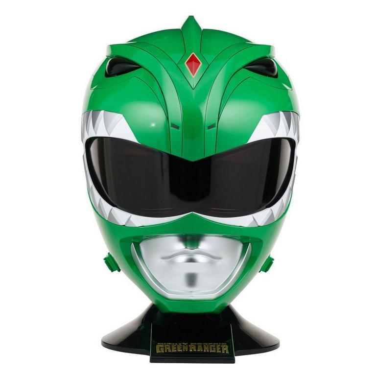 Power Rangers Legacy Green Ranger 1:1 Scale Helmet