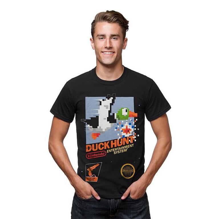 NES Duck Hunt Classic Box Art T-Shirt