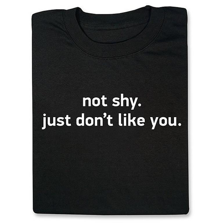 Not Shy T-Shirt