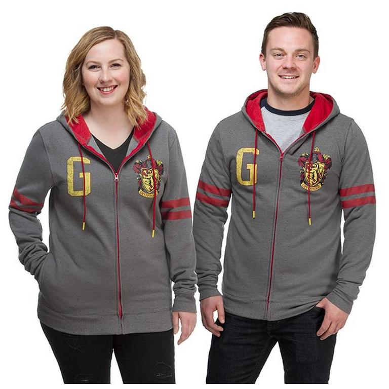 Harry Potter Gryffindor Varsity Zip-Up Hoodie