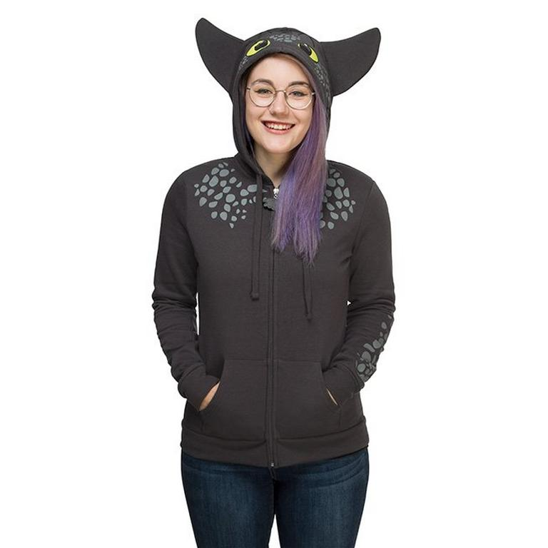 How to Train Your Dragon Toothless Hoodie