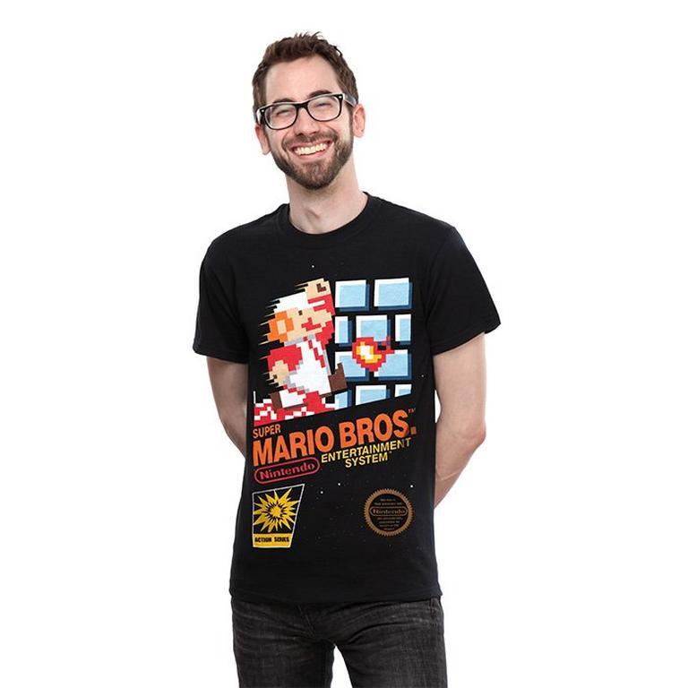 Super Mario NES Classic Box Art T-Shirt