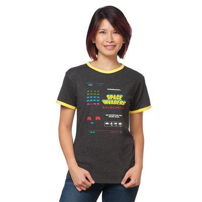 Space Invaders Ladies T-Shirt