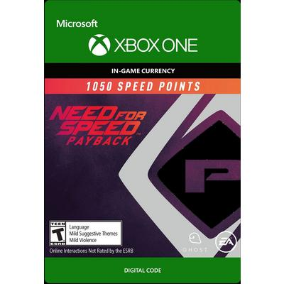 Need for Speed Payback 1050 Points Digital Card