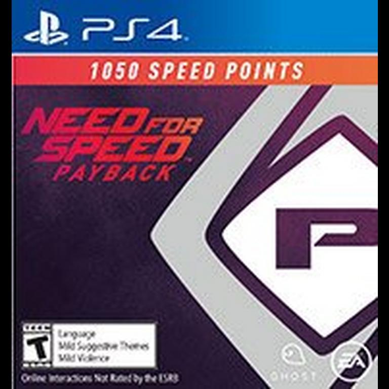 Need for Speed Payback 1,050 Speed Points