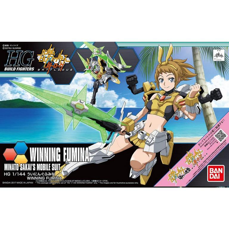 High Grade Build Fighters Winning Fumina Model Kit