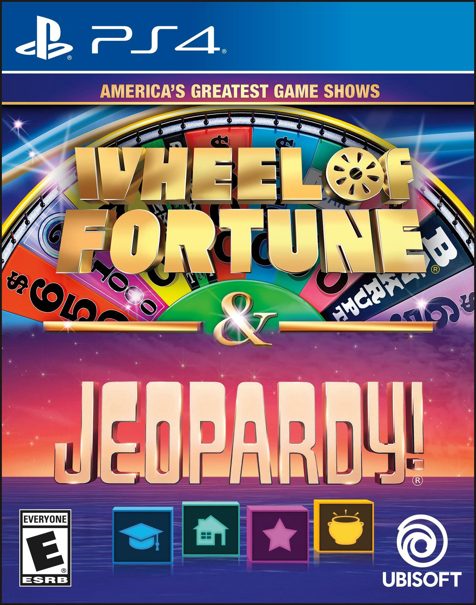 America's Greatest Game Shows: Wheel of Fortune & Jeopardy! | PlayStation 4  | GameStop