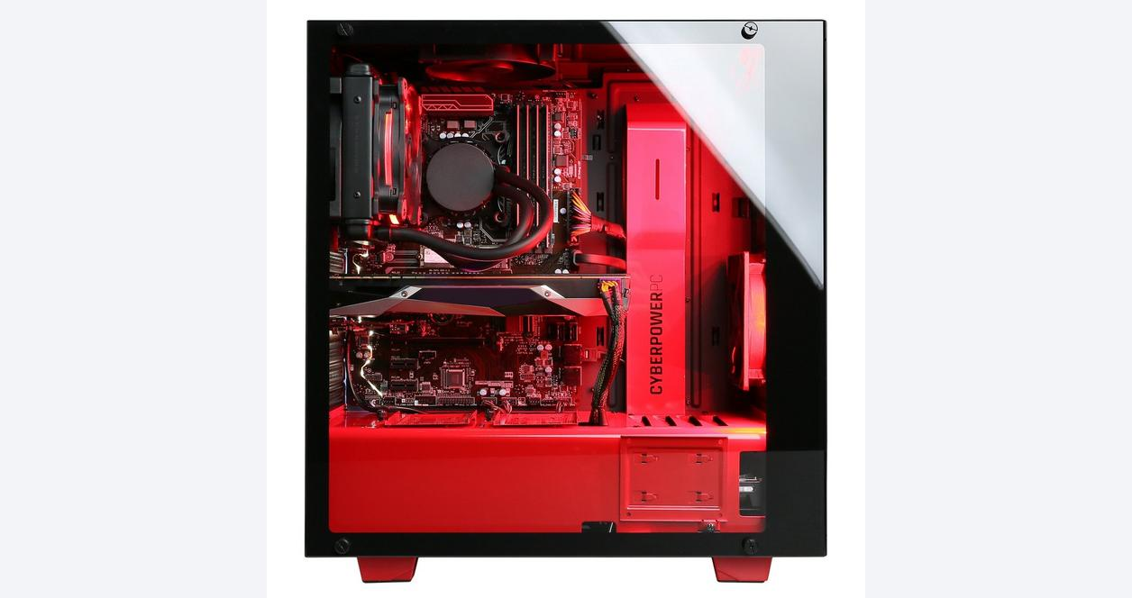 CYBERPOWERPC Gamer Supreme Liquid Cool SLC8780CPG with Intel i7-8700K 3.7GHz Gaming Computer