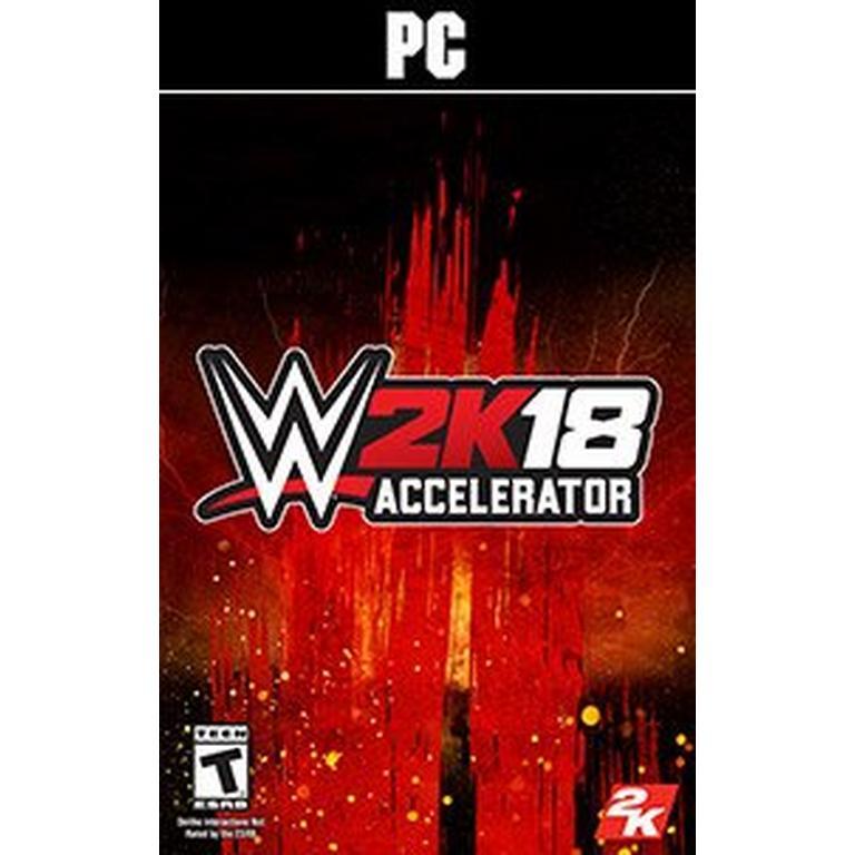 WWE 2K18 Accelerator Pack