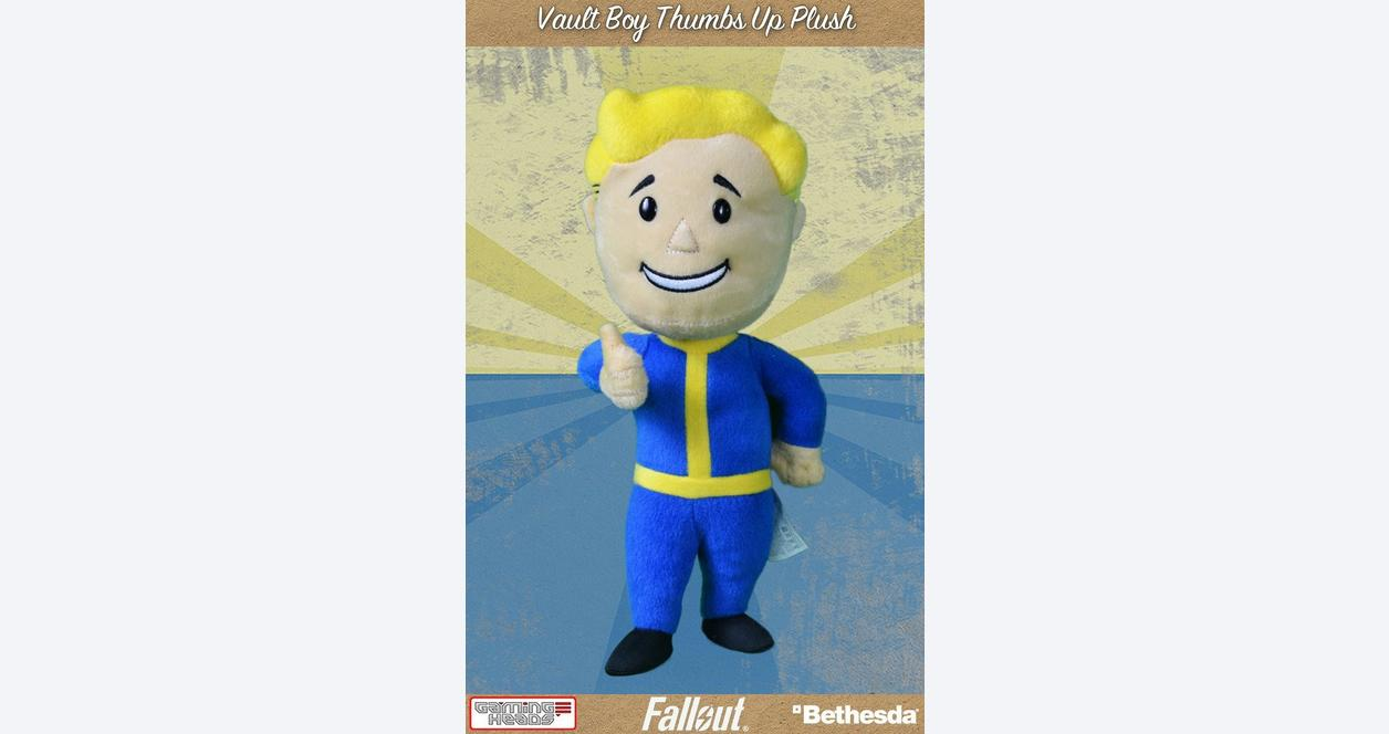 Fallout 4 Vault Boy Thumbs Up Plush
