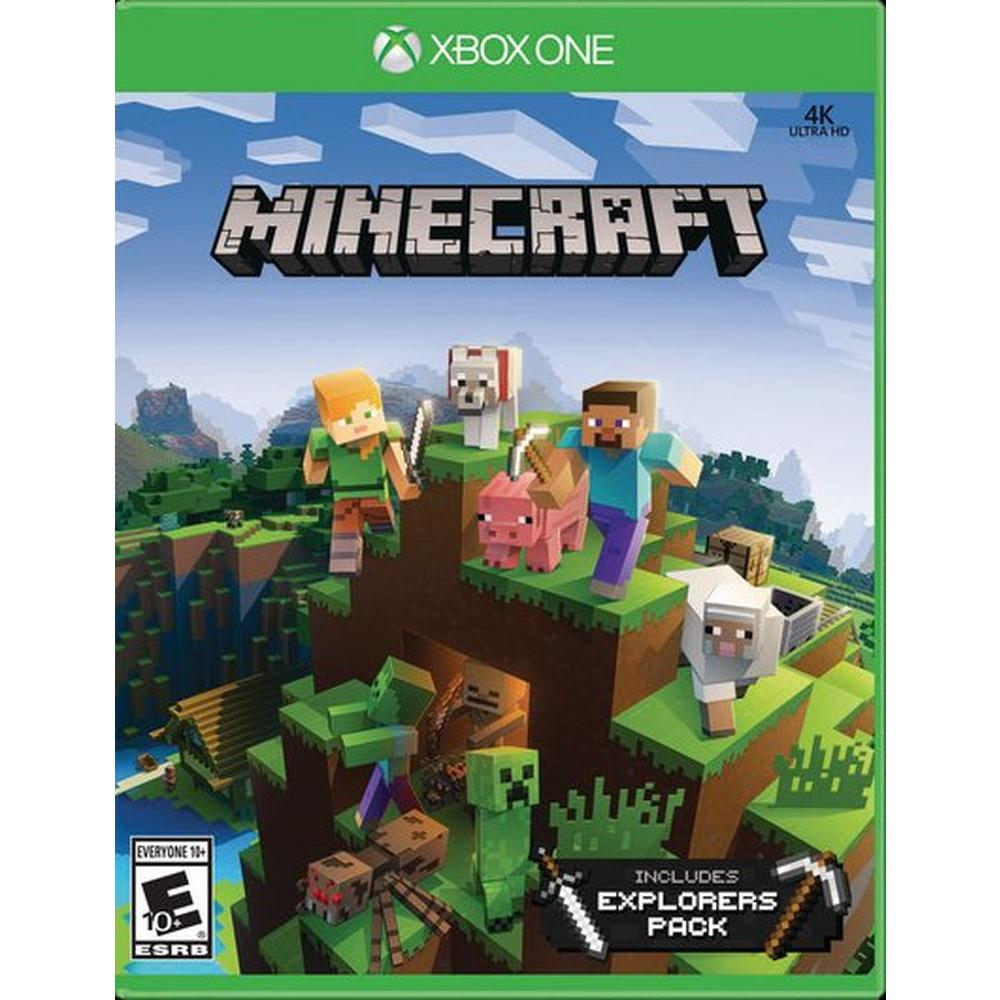 Minecraft with Explorers Pack | Xbox One | GameStop