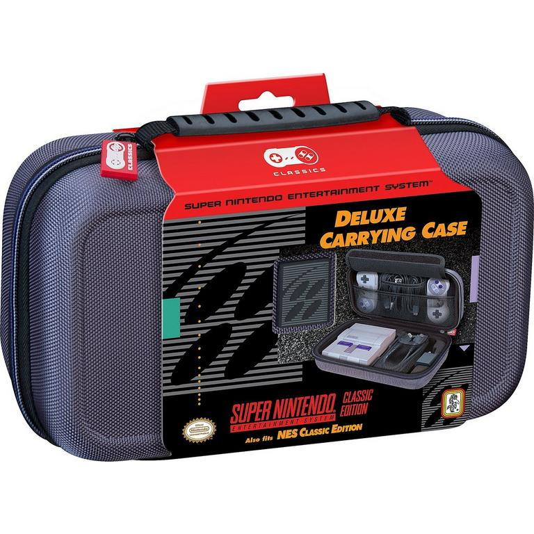 DELUXE TRAVEL CASE for SNES Classic Edition