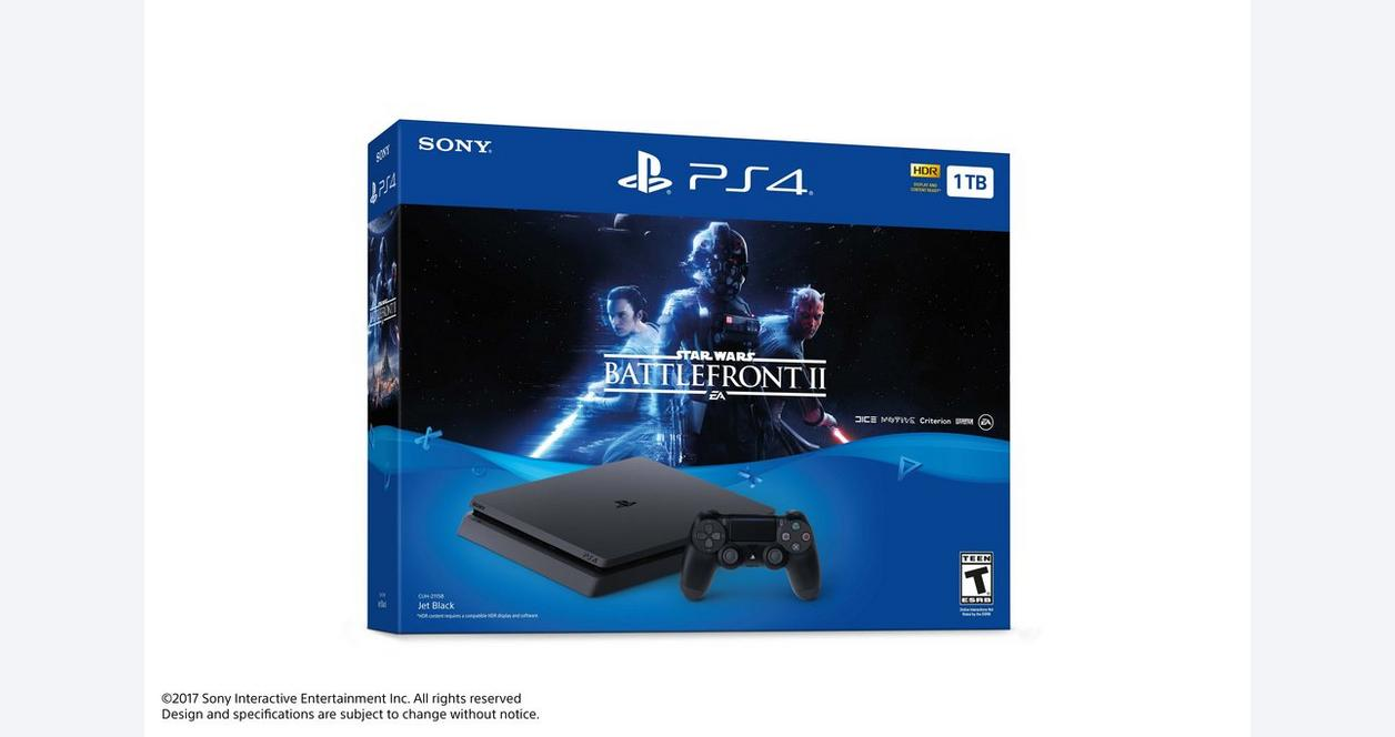 PlayStation 4 Star Wars: Battlefront II Bundle 1TB
