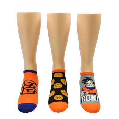 Dragon Ball Z Symbol Lowcut Socks 3 Pack