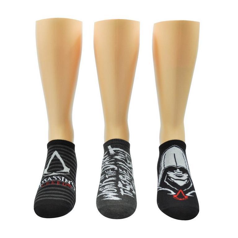 Assassin's Creed Stripe Lowcut Socks 3 Pack