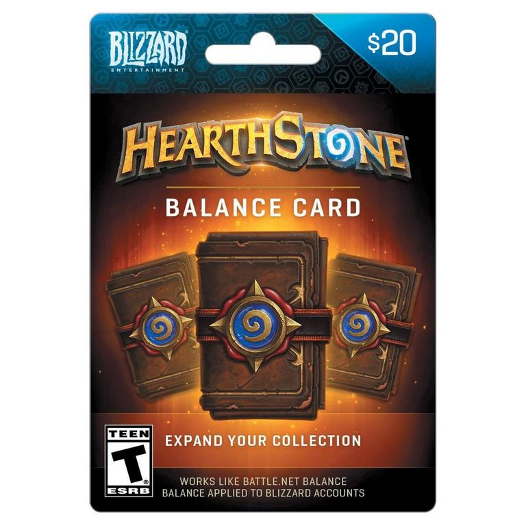 Blizzard Entertainment Digital Blizzard Balance Hearthstone $20 eCard PC Download Now At GameStop.com!
