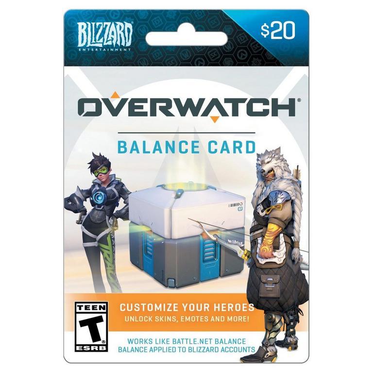 Blizzard Balance Overwatch $20 eCard