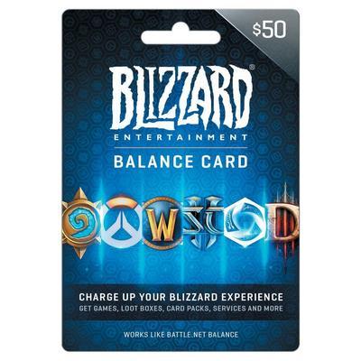 Blizzard Balance $50 eCard
