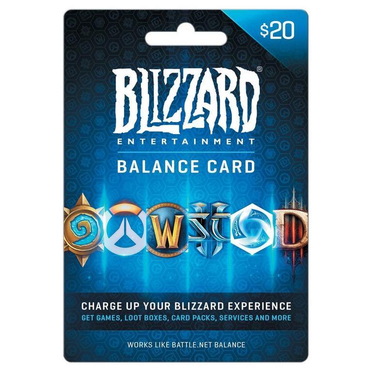 Blizzard Balance $20 eCard