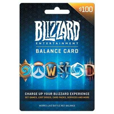 Blizzard Balance $100