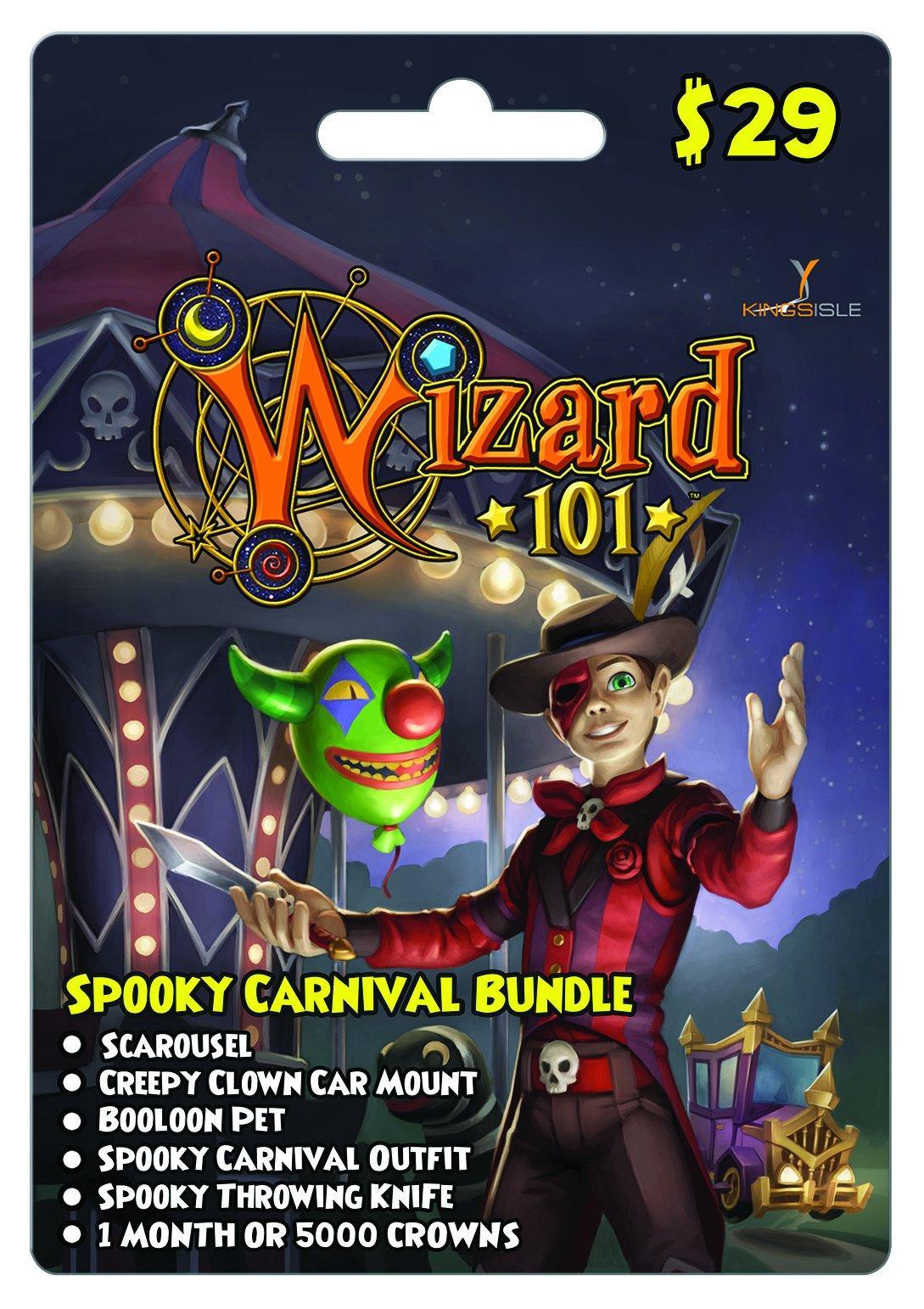 Wizard 101 Spooky Carnival eCard   <%Console%>   GameStop