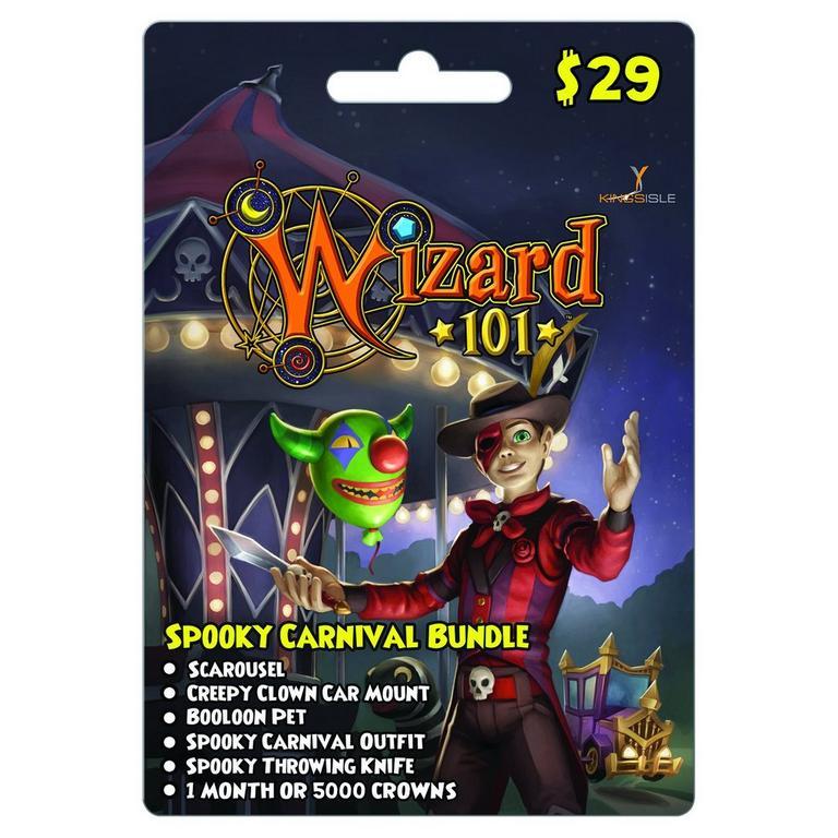 Wizard 101 Spooky Carnival eCard