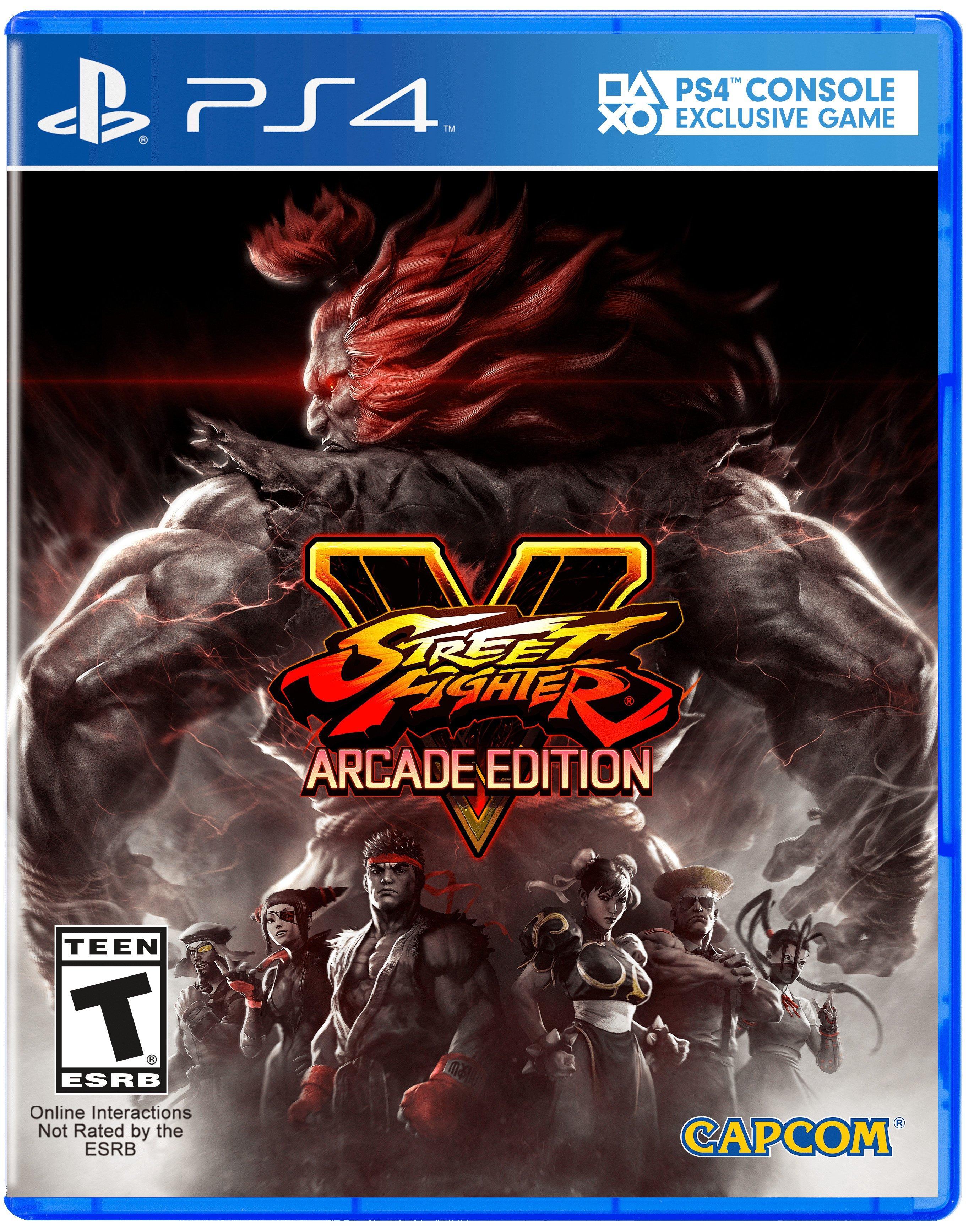 Street Fighter V Arcade Edition Playstation 4 Gamestop